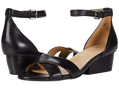 Naturalizer Caine (Black Leather) Women