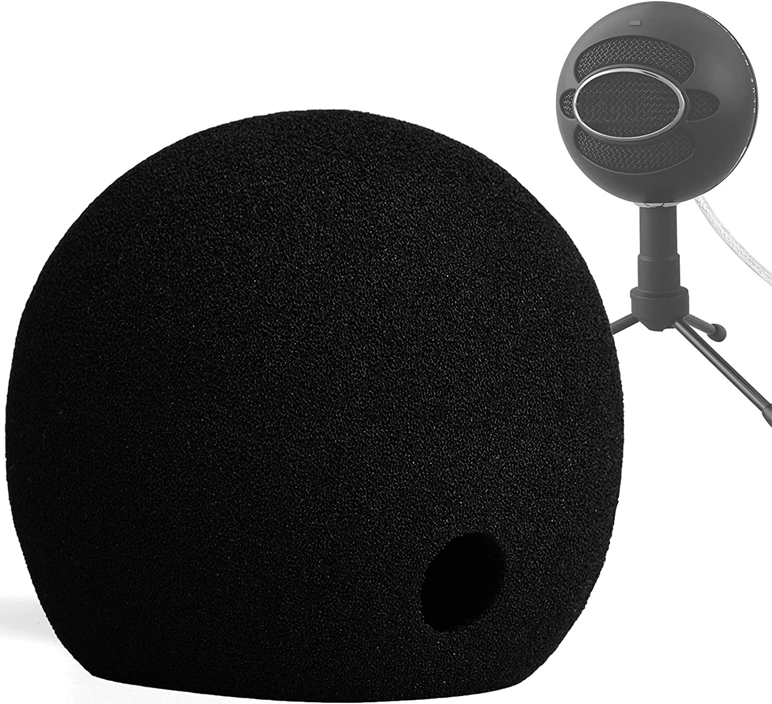 Chromlives Mic Foam Cover Compatible Ice Super special price Pop Snowball with Blue Regular dealer