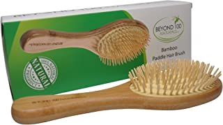 Dry Scalp Paddle Brush for Hair -Large - by Beyond 100 Naturals