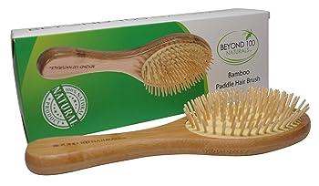 Beyond 100 Naturals Dry Scalp Bamboo Paddle Brush