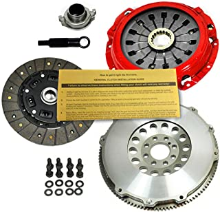 EFT ORGANIC CLUTCH KIT + FORGED RACE FLYWHEEL WORKS WITH 00-05 ECLIPSE GT GTS SPYDER 3.0 V6