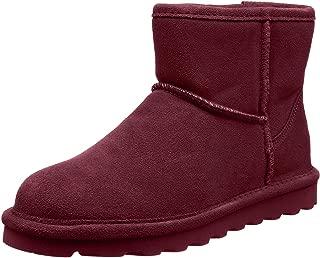 Best burgundy snow boots Reviews