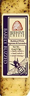 Beehive cheese Barely Buzzed Cheese, 4 oz