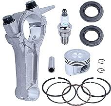 Adefol 68mm Piston Rings Connecting Rod Crankshaft Oil Seal Kit for Honda GX160 Chinese 168F 5.5HP Engine 13200-ZE1-010 13200-ZE1-010