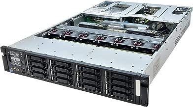 Enterprise HP ProLiant DL380 G7 Server 2x 2.66Ghz X5650 6C 144GB 12x 160GB SSD (Renewed)