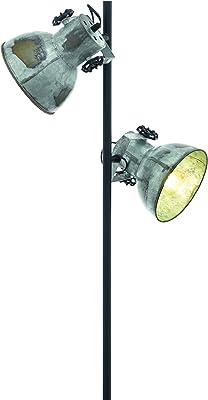 Bauhaus - Lámpara de pie (Color Blanco, altura 160 cm, 3 ...
