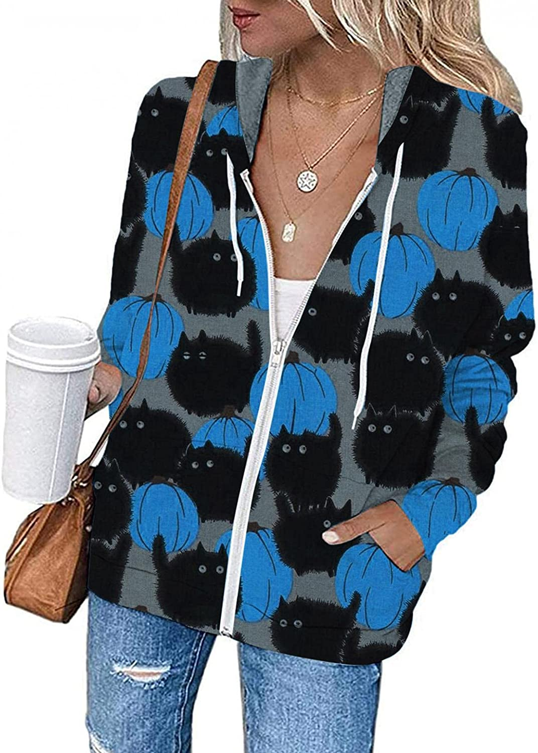 Halloween Animer and price revision Costumes for Women Plus Pumpkin Grap Sweatshirts Phoenix Mall Size