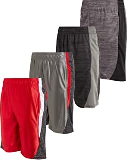 Mad Game Boys Athletic Performance Basketball Shorts (4 Pack)