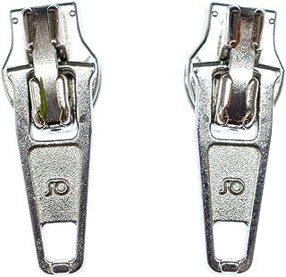Miniblings Reißverschluss Zipper Ohrstecker Zip Upcycling 80s silber - Handmade Modeschmuck I Ohrringe Stecker Ohrschmuck