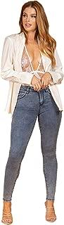 "YMI Women's Wannabettabutt 10"" Mid-Rise Skinny Jeans"