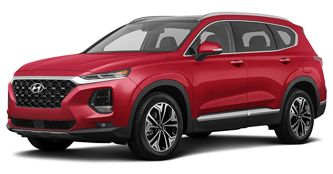 Santa Fe Suv >> 2019 Hyundai Santa Fe Limited 2 4l Automatic Transmission Front Wheel Drive Scarlet Red