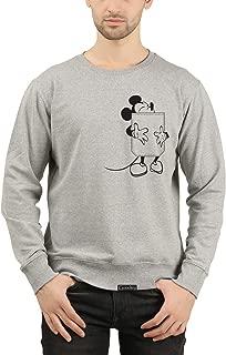 GOODTRY G Men's Cotton Printed Sweatshirt- Mickey
