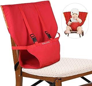 YOHOOLYO Chaise Nomade Bébé Chaise Haute Portable pour Sécurité de Bébé et..