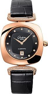 Glashutte Original Pavonina Quartz Ladies Rose Gold Diamond Watch