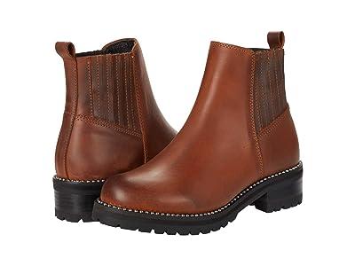 Steve Madden Gale Bootie (Cognac Leather) Women