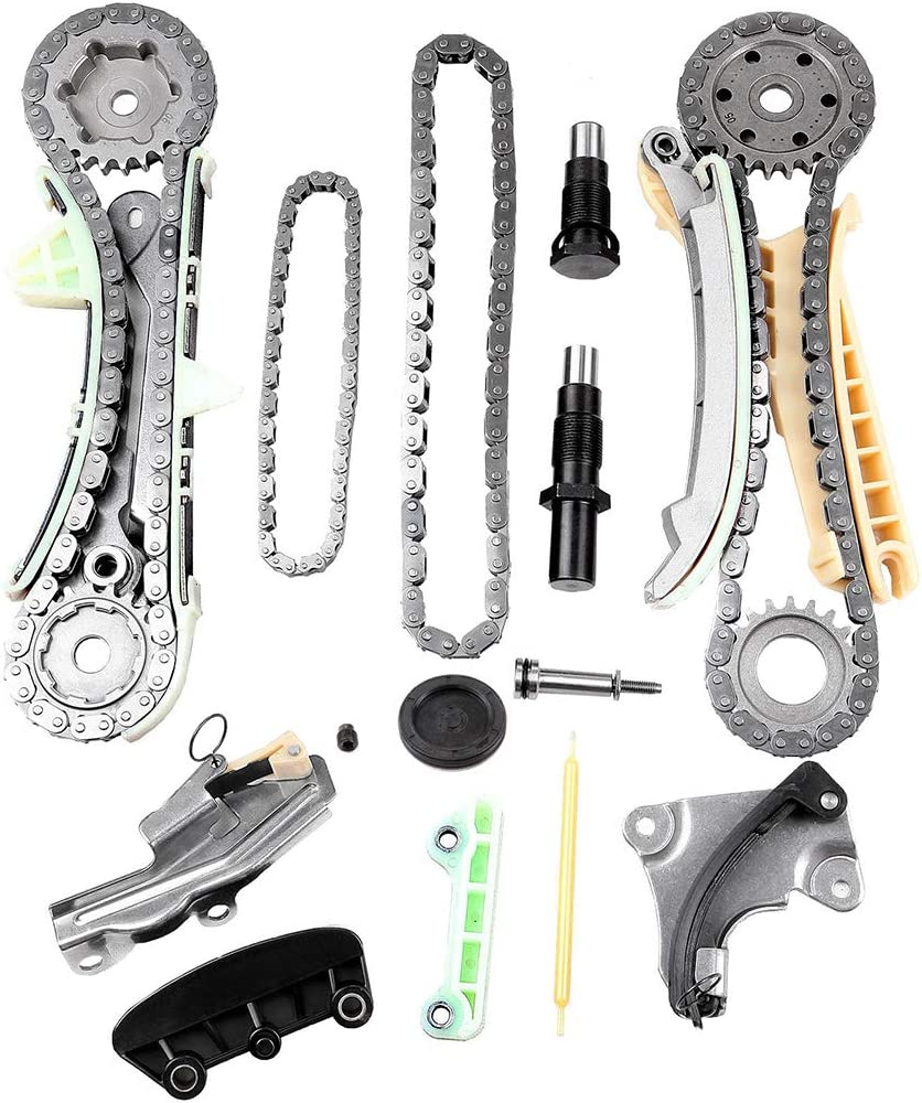 LUJUNTEC Automotive Replacement モデル着用 注目アイテム Timing Kit Chain for Compatible おトク