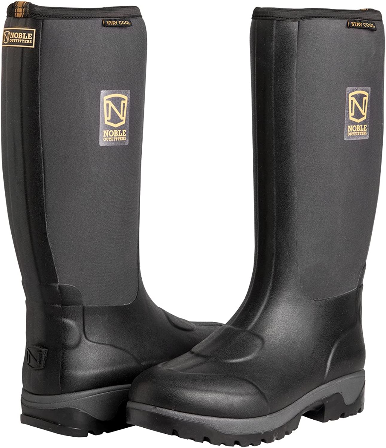 Noble Outfitters 65006-019 Mens MUDS Stay Cool High boot 7D (M) US