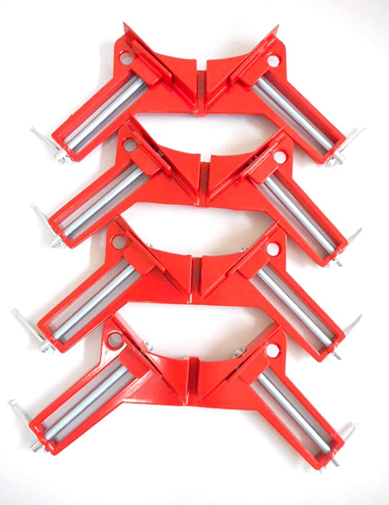 意志に反する程度手足MSP コーナークランプ 固定 木工 溶接 直角 45 90 度 DIY 工具