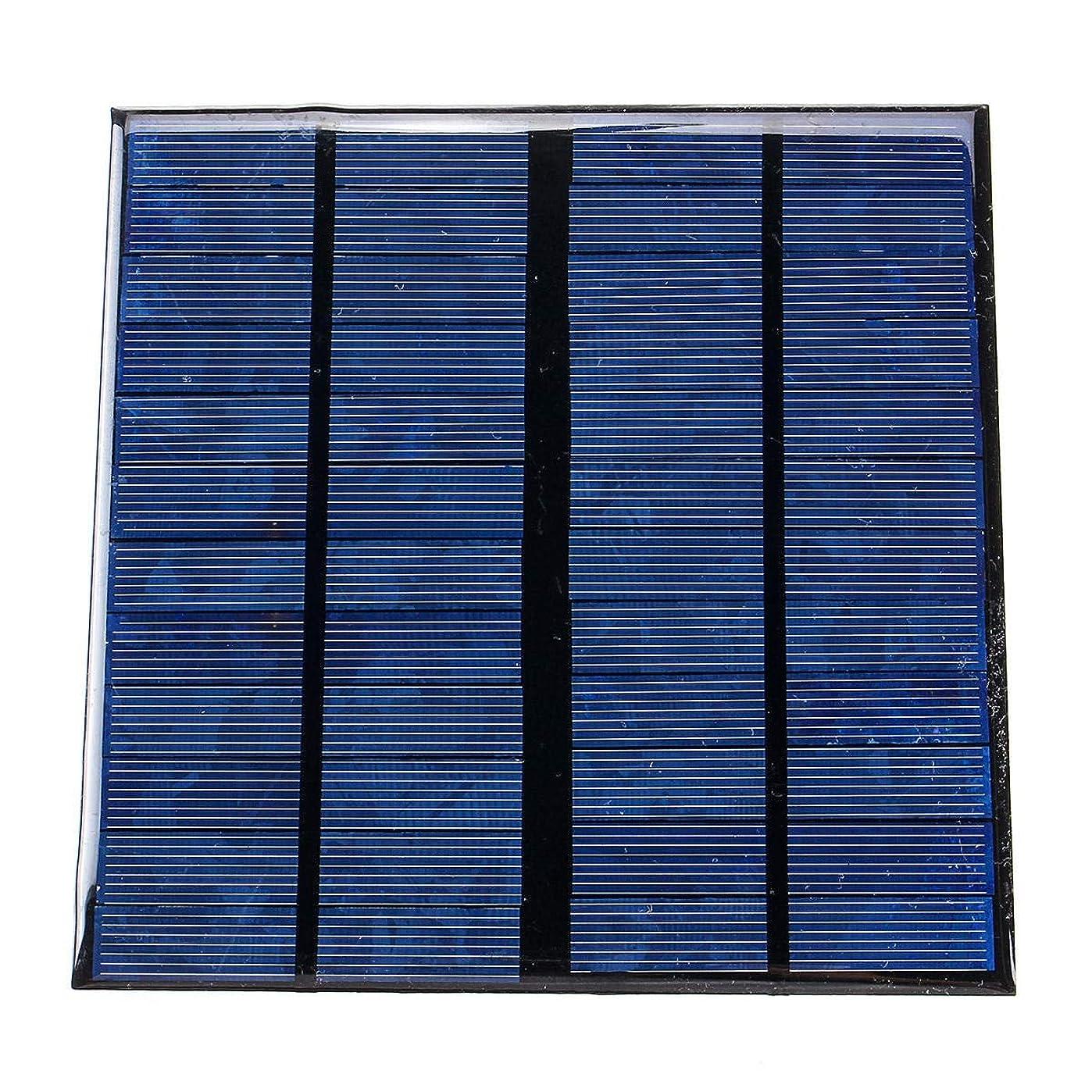 いつか狼地域のLY-YY 急速充電 12V 3W 250ミリアンペアミニポリシリコンソーラーパネル、ソーラーパネル ポータブル電源