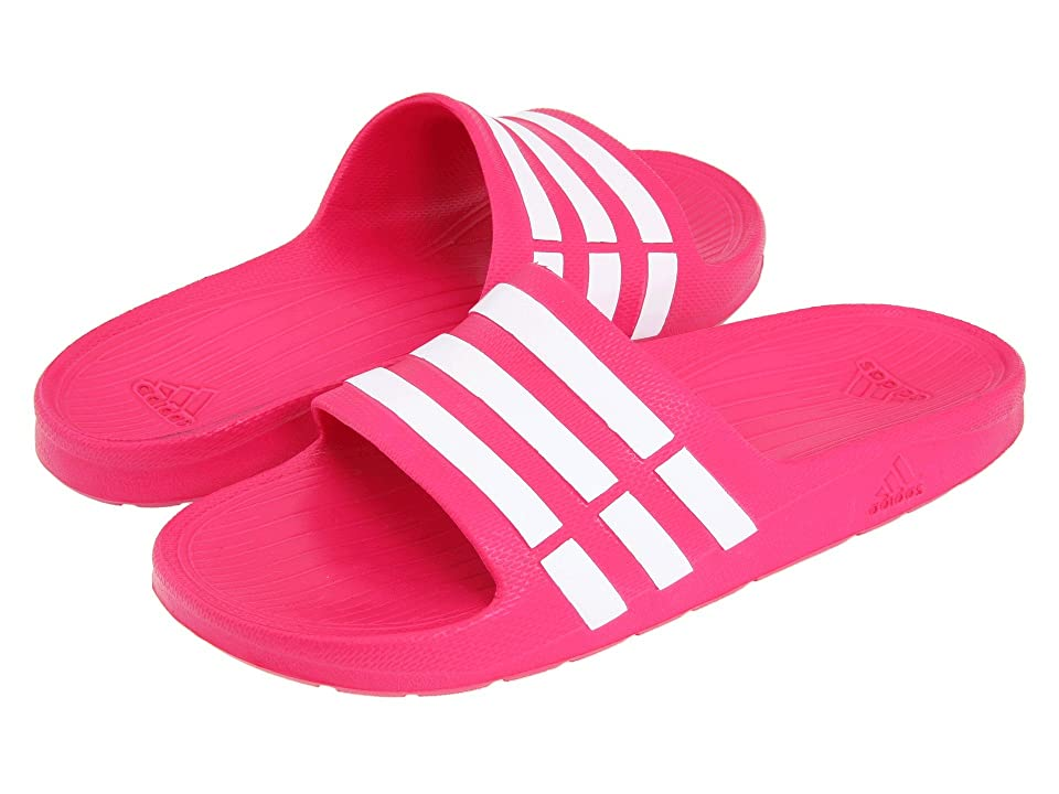 adidas Kids Duramo Slide (Toddler/Little Kid/Big Kid) (Pink Buzz/Running White/Pink Buzz) Girls Shoes