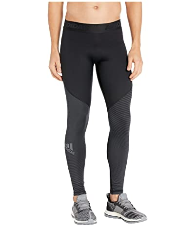 adidas Alphaskin CLIMAWARM(r) Long Tights (Black) Men