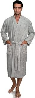 mens terry towelling bathrobe