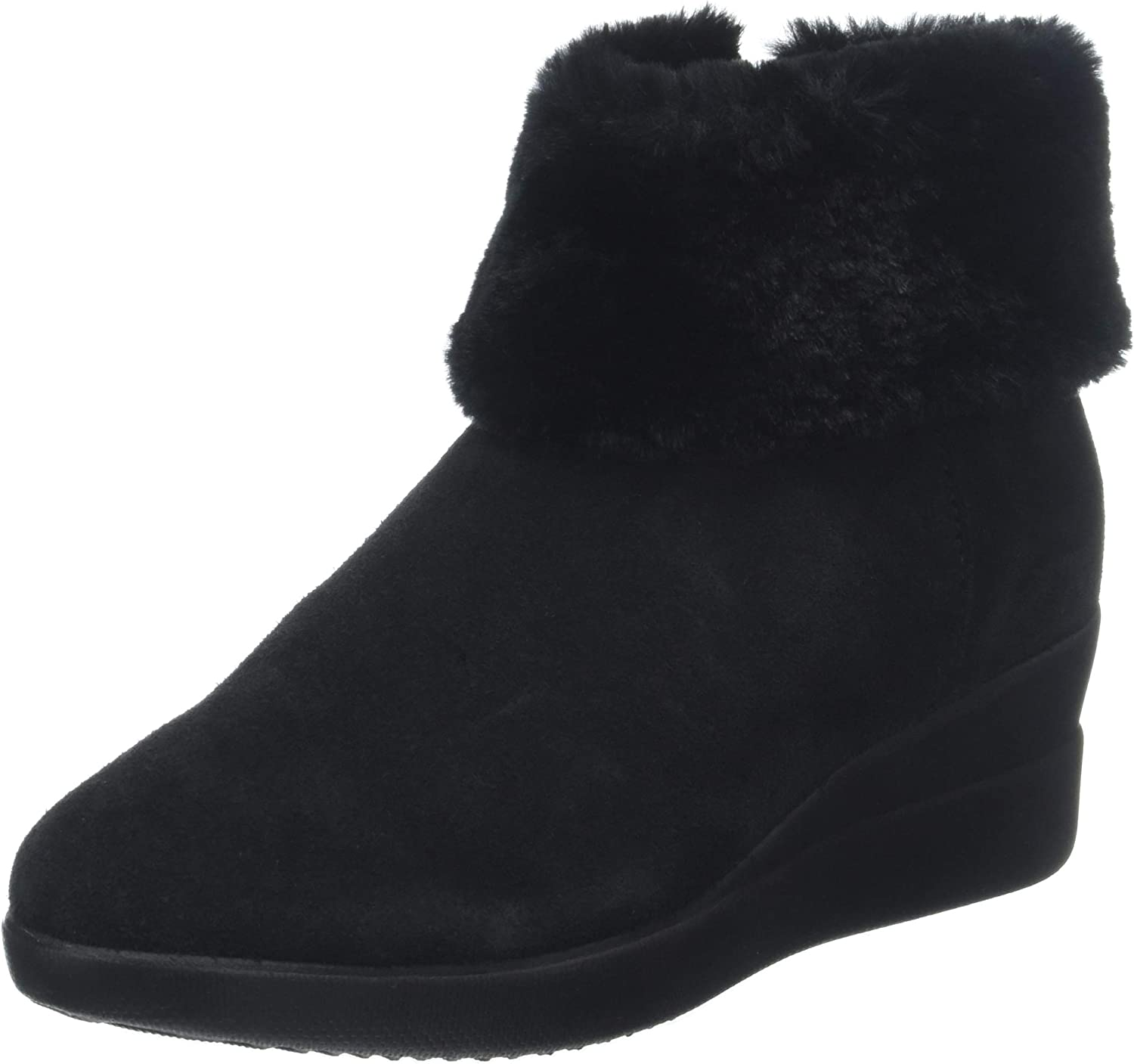 Geox D Stardust C Womens Suede Ankle Boots