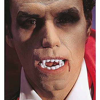 OULII Denti da Vampiro Finti Halloween Costume Travestimento