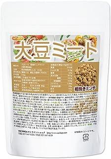 大豆ミート 粗挽きミンチタイプ 100g(国内製造品) 遺伝子組換え材料、動物性原料一切不使用 [01] NICHIGA(ニチガ)