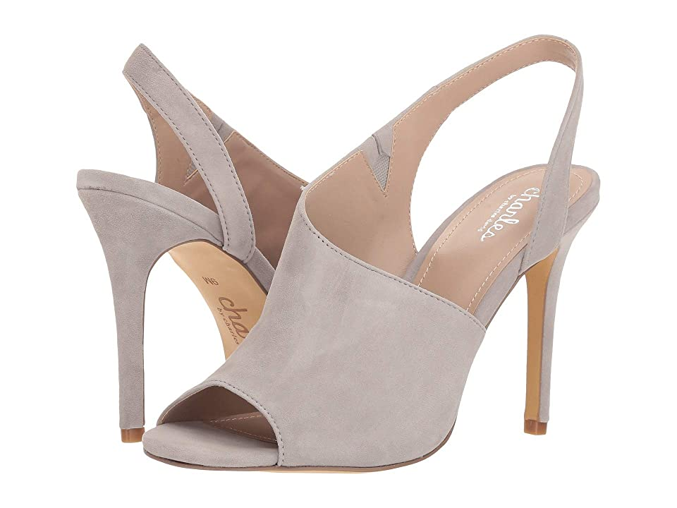 Charles by Charles David Riot Pump (Light Grey Suede) Women