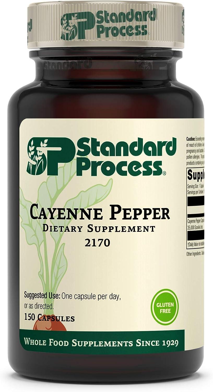 Standard Process Cayenne Pepper - Max 57% OFF Antioxida Support Sugar Minneapolis Mall Blood