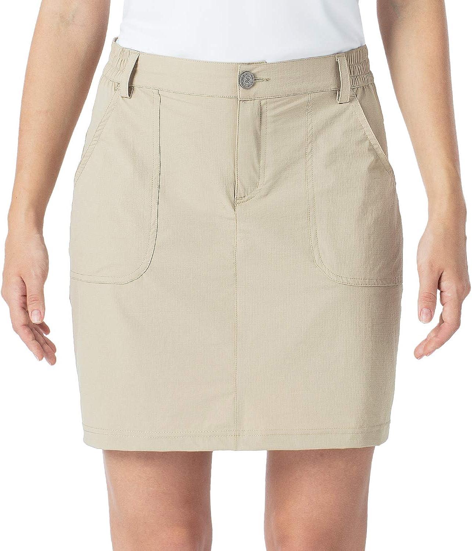 NAVISKIN Women's Outdoor Skort Golf UPF Skirts 50+ Minneapolis Mall Gifts Skorts Hiking