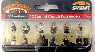 Bachmann 36-408 12 sittande tränare passagerare