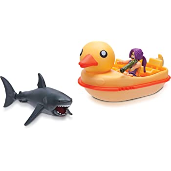 Roblox Sharkbite Codes 2019 May Amazon Com Roblox Celebrity Collection Sharkbite Duck Boat