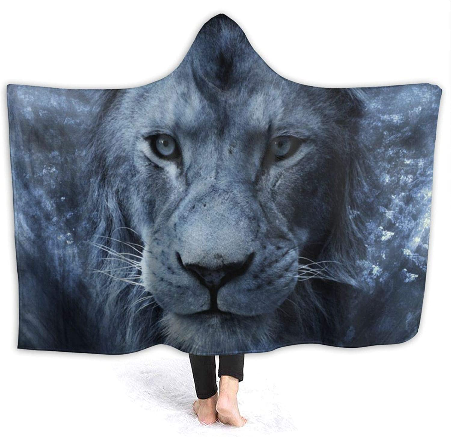 Popular brand in the world Ice Lion Hooded Blanket Air Throw A Conditioning Max 80% OFF