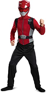 Red Power Ranger Beast Morphers Basic Boys' Costume