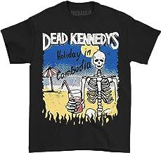 OKX Dead Kennedys - Cambodian Skeleton T-Shirt (Black, XL)