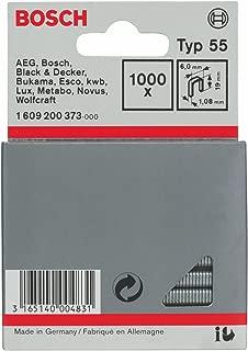 Bosch 1609200373 Fine Wire Staple 19x6mm 1000 Pcs