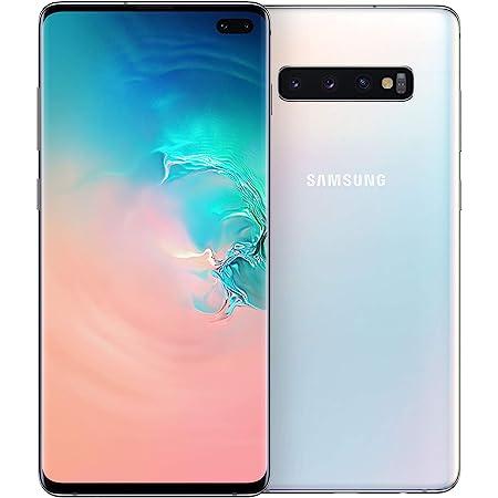 "Samsung Galaxy S10+ Smartphone, Display 6.4"" Dynamic AMOLED, 128 GB Espandibili, RAM 8 GB, Batteria 4100 mAh, 4G, Dual SIM, Android 9 Pie, Blu/Rosa (Multicolore)"
