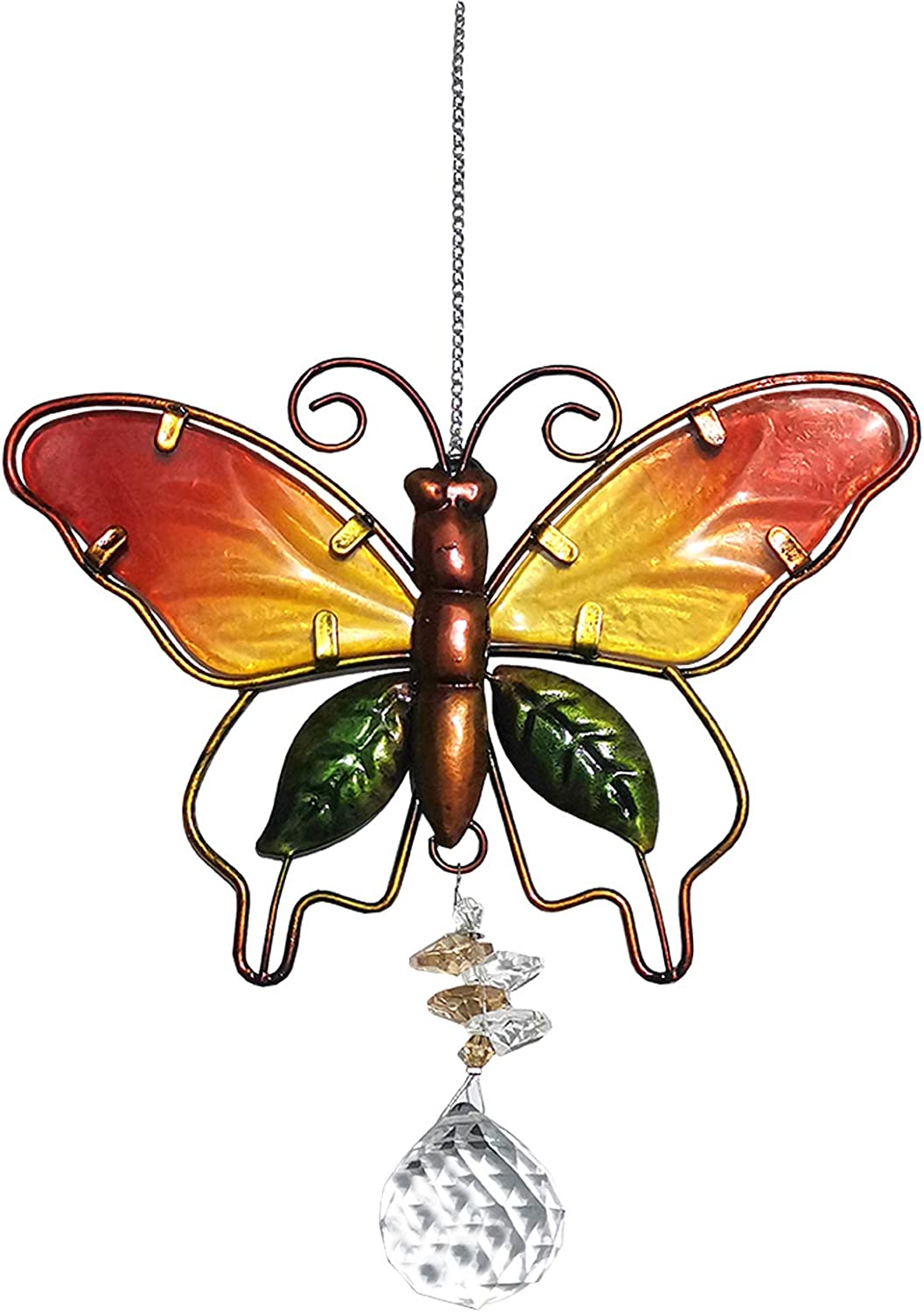 Garden Sun Raleigh Mall Catchers with Crystals Butte for Ranking TOP2 Glass Window Stained
