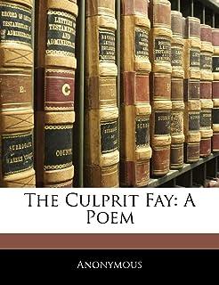 The Culprit Fay: A Poem