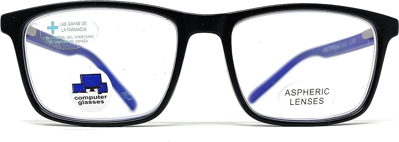 New Model 2021 Gafas con filtro bloqueo de luz azul para gaming, ordenador, móvil. Anti fatiga professional BROKER unisex venice