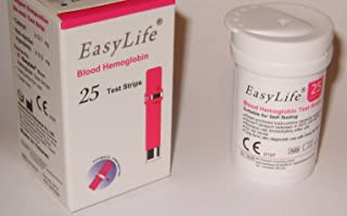 EasyLife Hemoglobin Test Strips (25pcs./Vial)