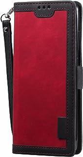 ESONG Portemonnee Case voor Samsung Galaxy A12/M12,Lederen Beschermhoes & Credit Card Pocket,Ondersteuning Kickstand,flip ...