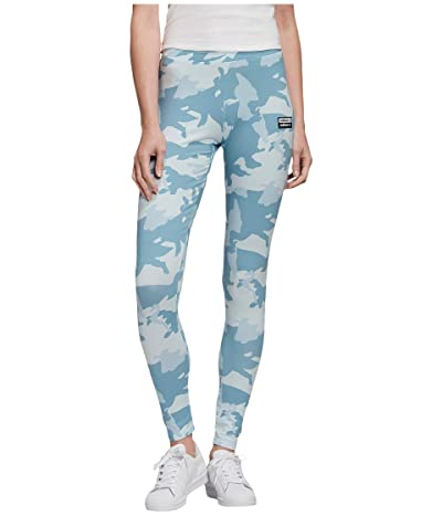 adidas Originals Tights (Sky Tint/Shade Blue/Easy Blue) Women