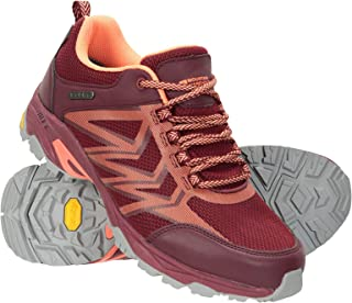 Mountain Warehouse Pace Rival Womens Running Shoes - High Traction Vibram Outsole Ladies Footwear, Lightweight, EVA Footbed, Mesh Lined - Best for Walking, Travelling