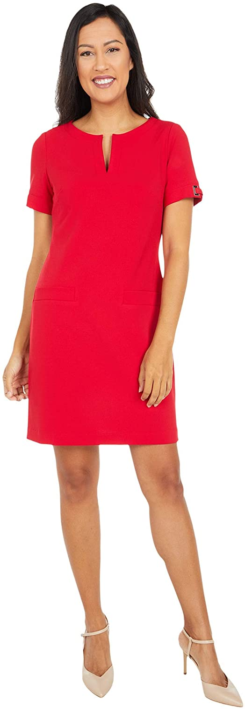 Sale Max 47% OFF Tommy Hilfiger Women's Scuba Two Dress Pocket Crepe