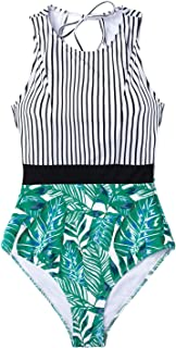 cupshe leaf swimsuit