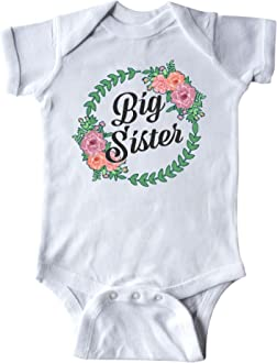 inktastic Big Sister Finally with Bow and Arrow Long Sleeve Creeper