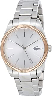 Lacoste Womens Quartz Wrist Watch, Analog and Stainless Steel- 2001082